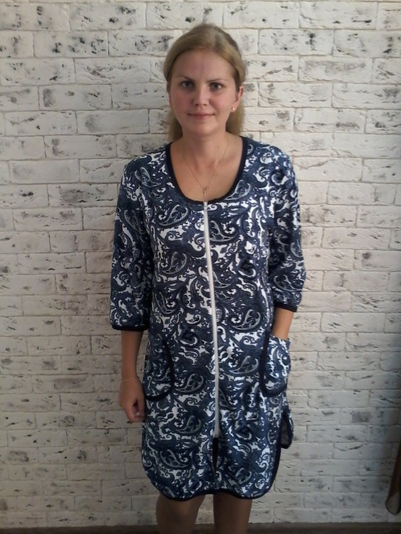 Халат женский ИндиДомашняя одежда<br><br><br>Размер: 50