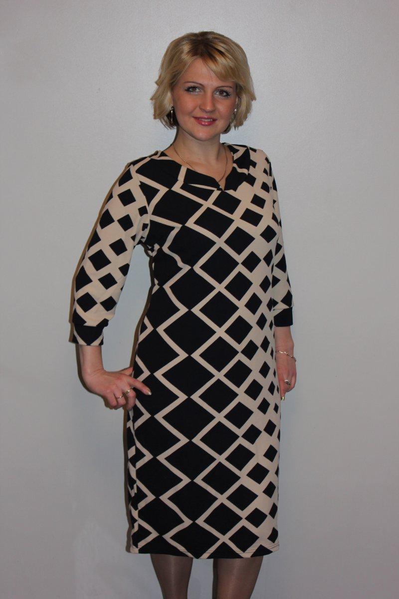 Платье женское ЛюсияПлатья и сарафаны<br><br><br>Размер: 58