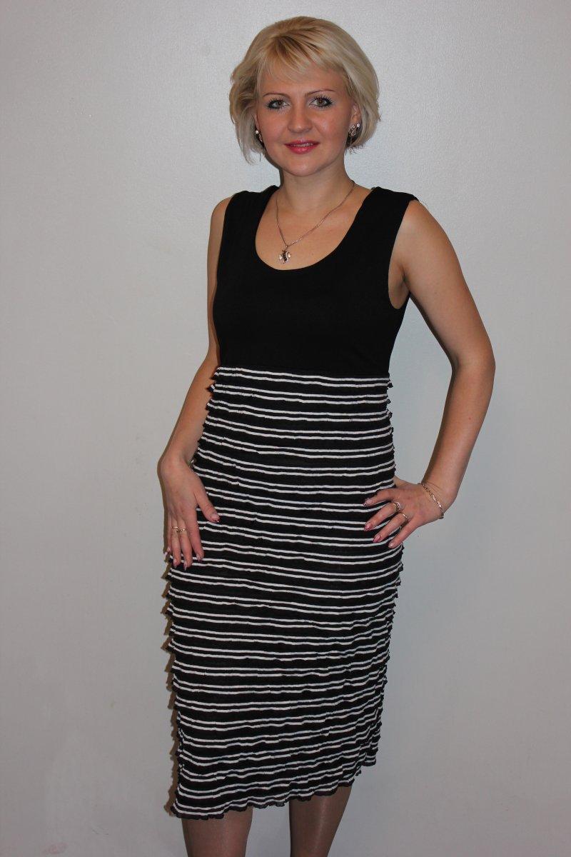 Платье женское РюшаПлатья<br><br><br>Размер: 50