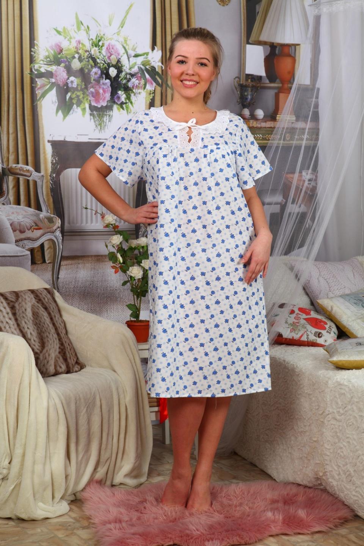 Сорочка женская МелинаДомашняя одежда<br><br><br>Размер: 56