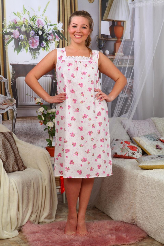 Сорочка женская СударушкаДомашняя одежда<br><br><br>Размер: 48