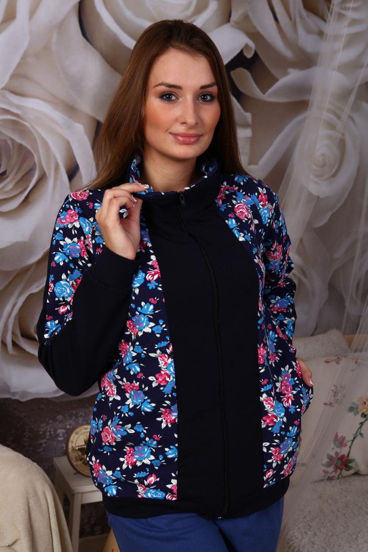 Толстовка женская Теплая осеньКофты, свитера, толстовки<br><br><br>Размер: 50