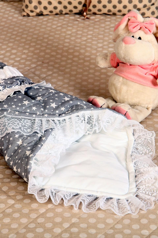 Одеяло детское Звездочка с фиксатором-резинкой, 96х96 см, Детские одеяла и подушки  - купить со скидкой