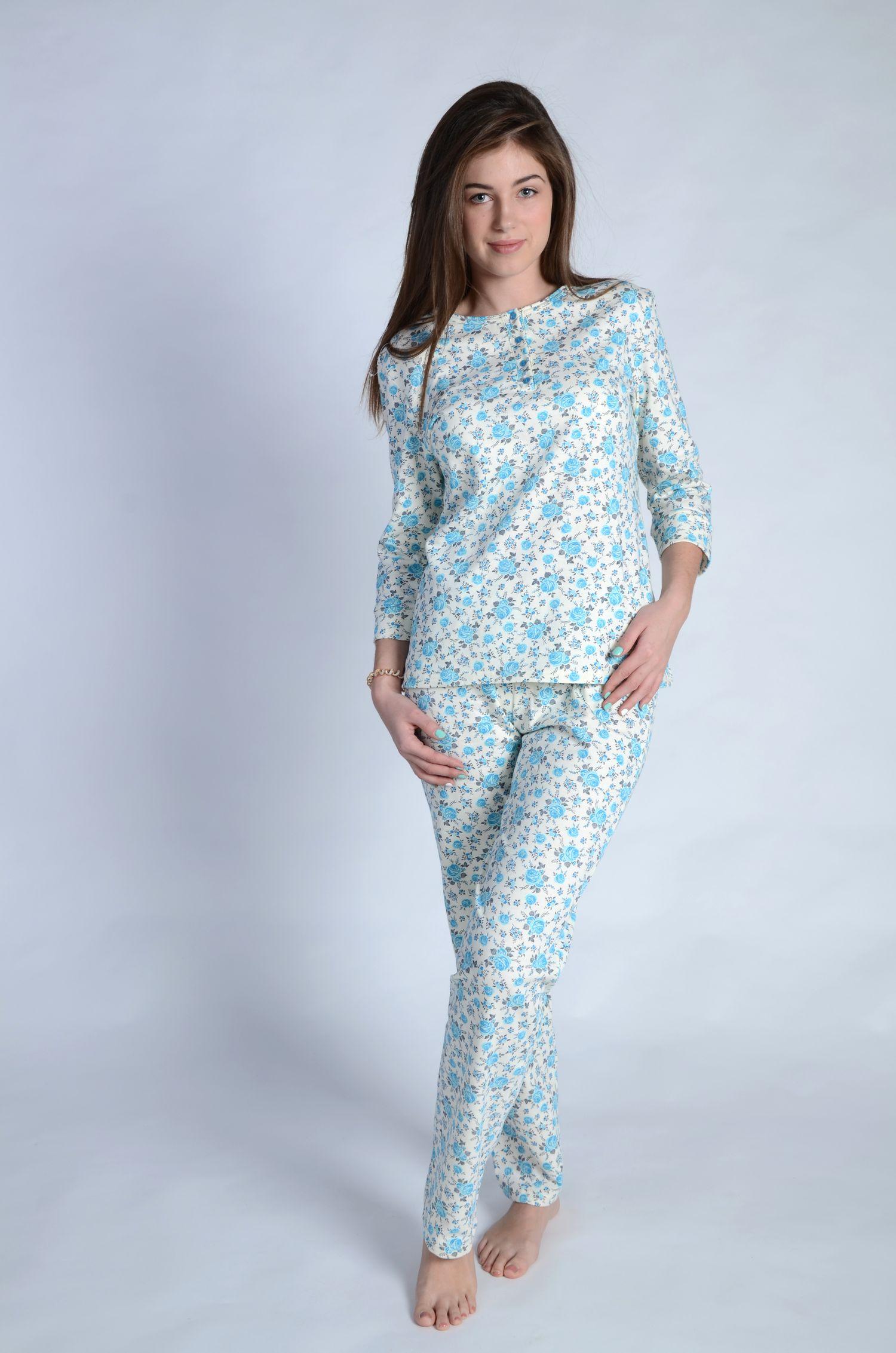 "Пижама женская ""Комфорт"" кофта и брюки"