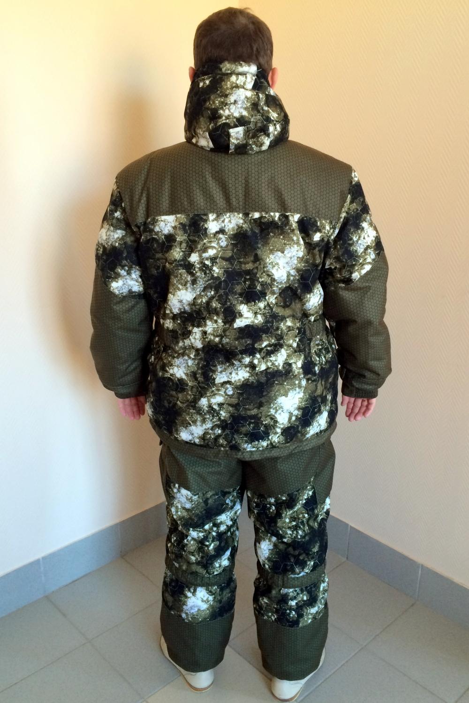 "Костюм мужской ""Горка зима"" куртка на молнии с капюшоном"
