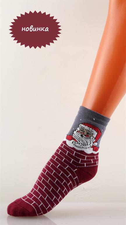 """Носки детские """"Дед Мороз"""""""