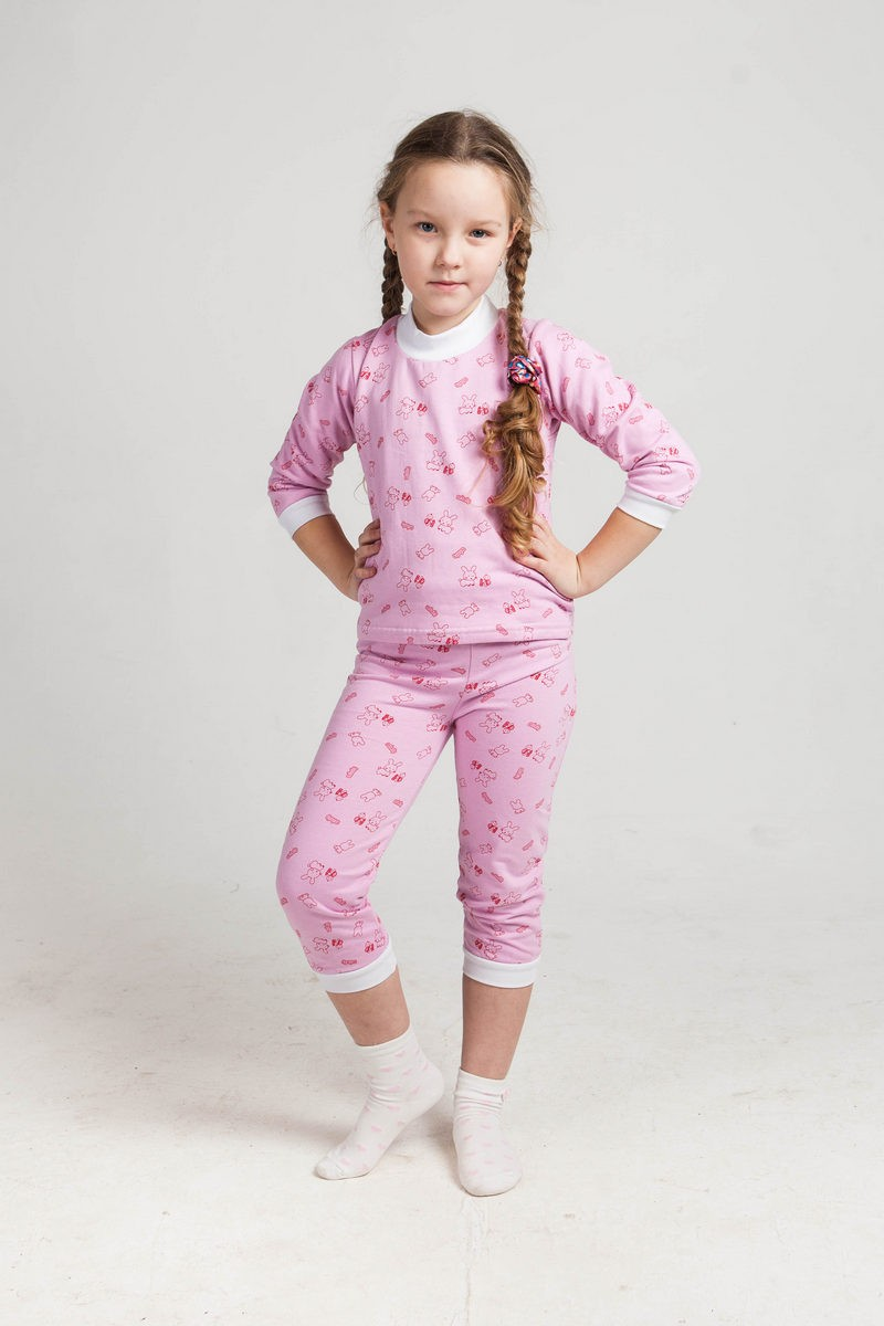 Пижама детская манжеты (футер) AM-B-Pj-0607