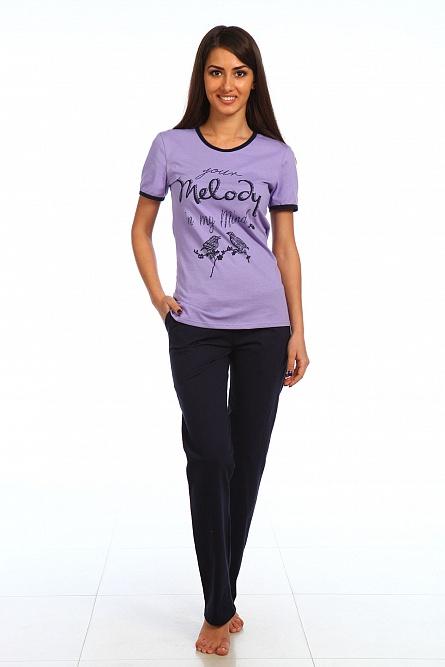 "Комплект женский ""Мелодия"" футболка и брюки SHA-W-Km-0539"
