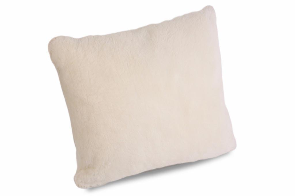 Подушка меринос белая из натуральной шерсти VBH-CPX-P-MER