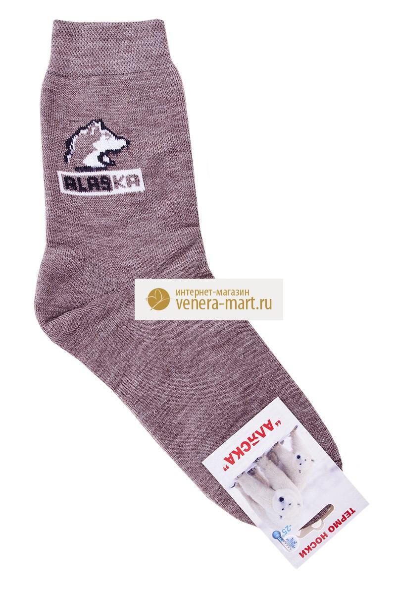 """Носки мужские """"Аляска"""" из собачьей шерсти в упаковке, 6 пар GT-M-Nsk-A1-5-11-104"""