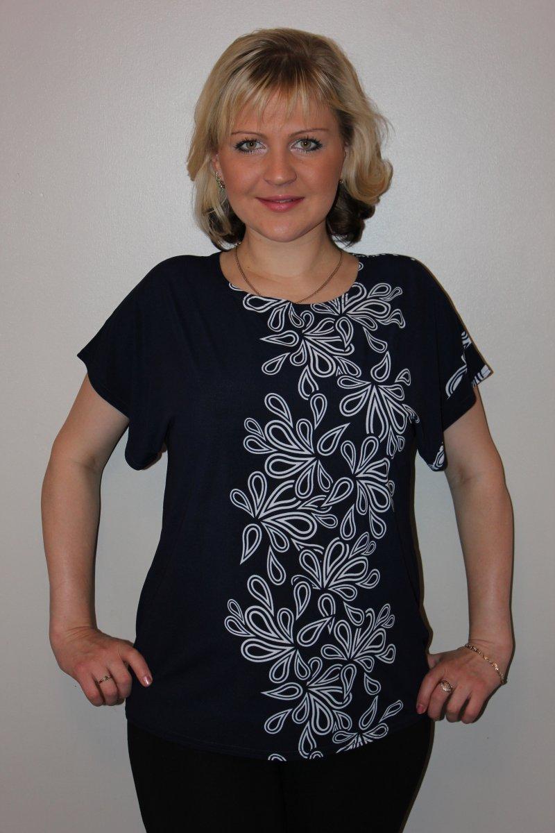 """Блуза женская """"Орегано"""" с коротким рукавом"""