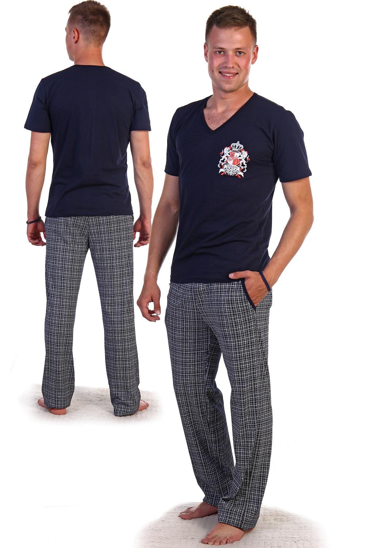 """Купить со скидкой Костюм мужской """"Ричард"""" футболка и брюки"""