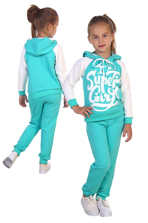 """Купить со скидкой Костюм детский для девочек """"Классная девчонка"""" толстовка и брюки"""