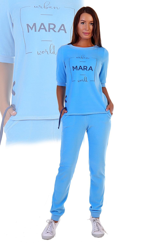 """Купить со скидкой Костюм женский """"Mara"""" футболка и брюки"""