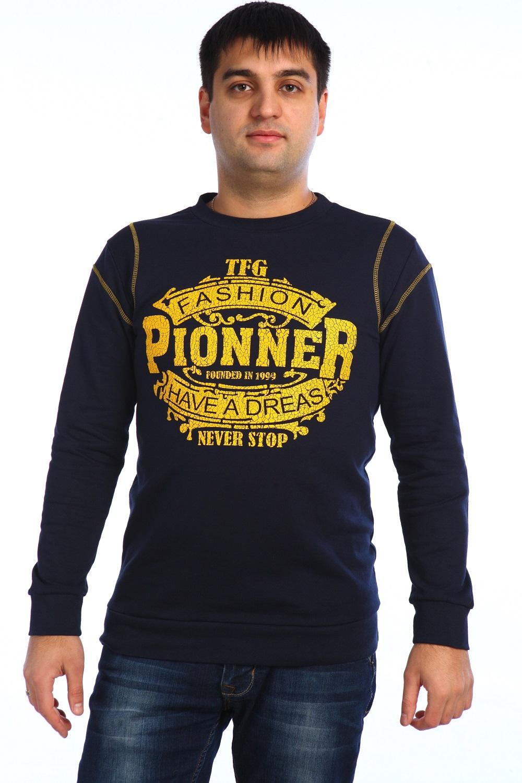 """Толстовка мужская """"Пионер"""" с длинным рукавом N37-M-Tl-Pioner"""