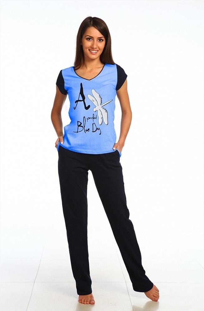 "Комплект женский ""Стрекоза"" футболка и брюки SHA-W-Km-0542"