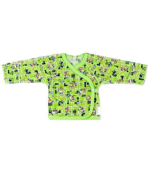 Купить Распашонка детская с царапками Кимоно , 18 (рост 50-56 см), Распашонки