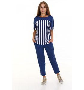 "Костюм женский ""Залив"" футболка и брюки"