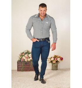 """Мужская сорочка """"Домино"""" с длинным рукавом"""