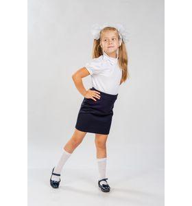 """Блуза подростковая """"Бант"""" с коротким рукавом"""