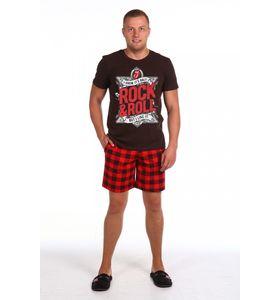 "Костюм мужской ""Rock-&-Roll"" футболка и шорты"