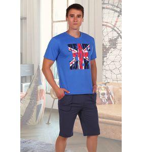 """Костюм мужской """"Британец"""" футболка и шорты"""