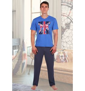 "Костюм мужской ""Британец"" футболка и брюки"