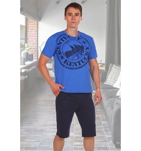 """Костюм мужской """"Кент"""" футболка и шорты"""