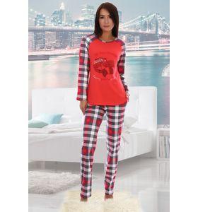 "Пижама женская ""Енот"" футболка и брюки"