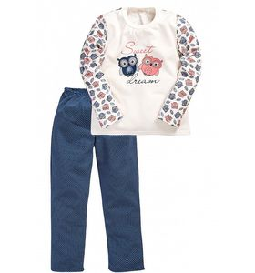 "Пижама подростковая ""Совята"" кофта и брюки"