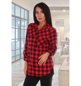 """Рубашка женская """"Леся"""" с длинным рукавом"""