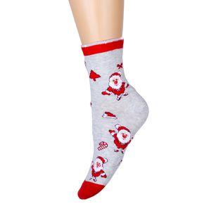 """Носки женские """"Дед Мороз"""" с высоким паголенком"""