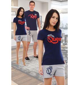 """Костюм женский """"Queen"""" футболка и шорты"""