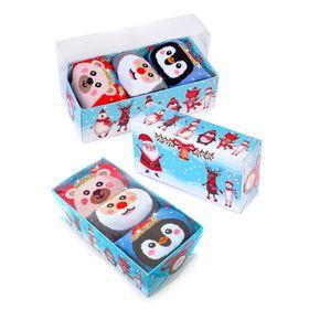 """Носки детские """"Морозко"""" в подарочной упаковке, 3 пары"""