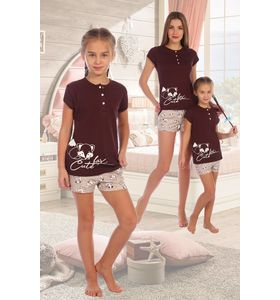 """Пижама детская """"Поцелуйчик"""" футболка и шорты"""