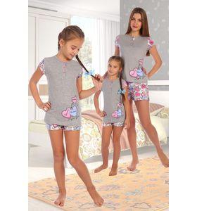"""Пижама детская """"Тыковка"""" футболка и шорты"""