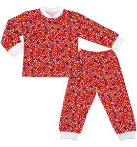 """Пижама для девочки с манжетами """"Рыбочка"""""""