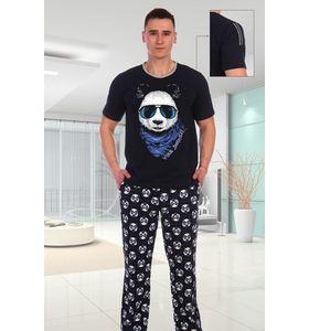 "Костюм мужской ""Панда"" футболка и брюки"