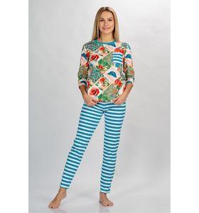 Костюм женский Бриз-2 футболка д-р+брюки макси