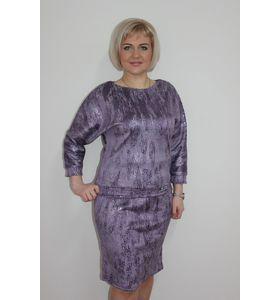 "Костюм женский ""Silver"" блуза и юбка"
