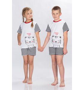 Пижама подростковая Tiger футболка+шорты