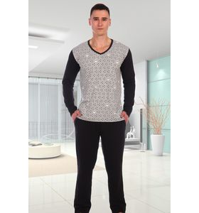 "Пижама мужская ""Блок"" футболка и брюки"