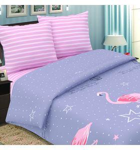 """Комплект постельного белья """"Фламинго"""" из поплина"""
