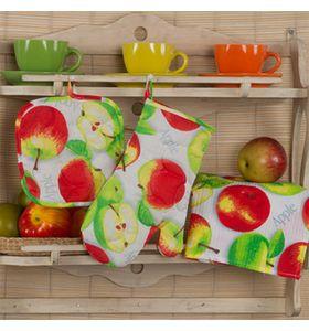 """Набор для кухни """"Яблочное угощение"""" из 3 предметов"""