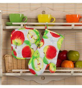 """Набор для кухни """"Яблочное угощение"""" из 2 предметов"""