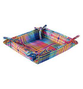 """Текстильная ваза """"Дачный пикник"""" с завязками"""