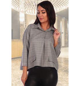 """Рубашка женская """"Джина"""" с отложным воротником"""