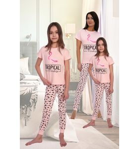 "Пижама детская ""Бора"" футболка и брюки"