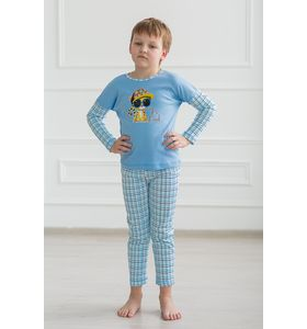 """Пижама подростковая """"Мульти Party"""" кофта и брюки"""