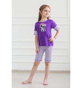 """Пижама подростковая """"Мульти Party"""" футболка и бриджи"""